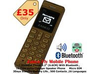 Zanco Fly Smallest Phone in the industry With Voice Changer Bluetooth & Much More