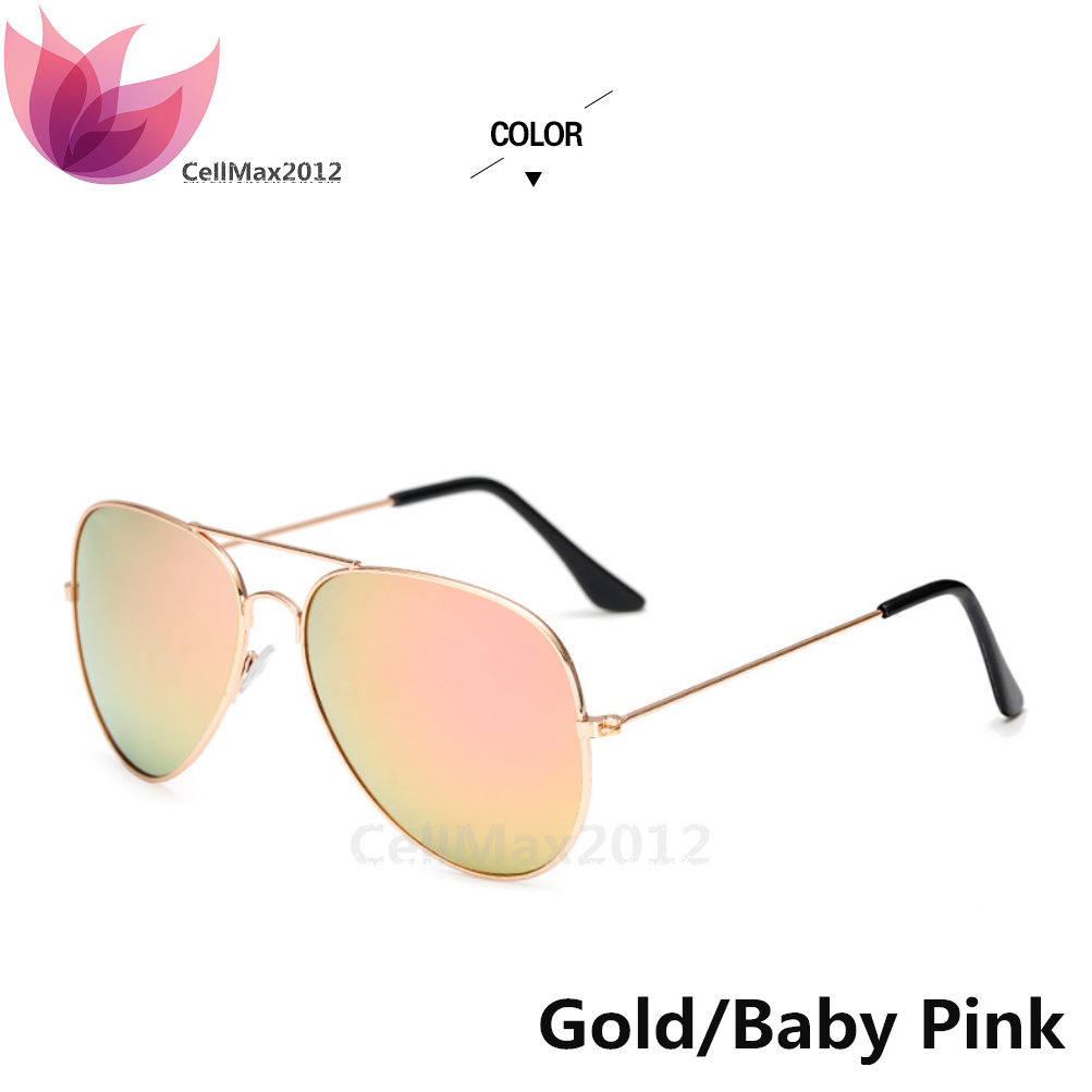 Gold / Baby Pink Lens