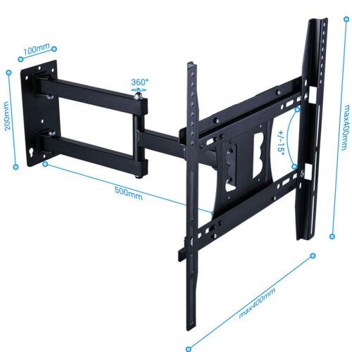 Articulating Smart TV Wall Mount Adjustable Tilt Swivel Brac