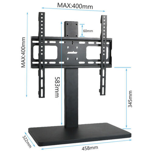 heavy duty tv stand with mount 58cm