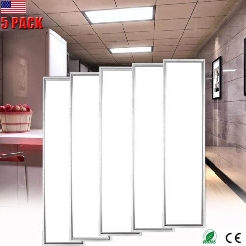 5pack led flat panel light ceiling home
