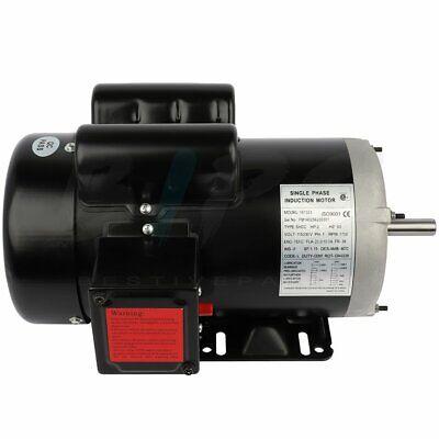 Farm Electric Motor 2 Hp Single Phase 56 Frame 1750 Rpm 58 Shaft 115230 Volt