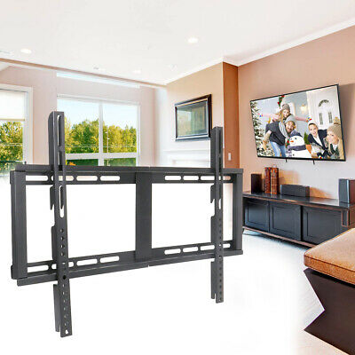 Fixed Position TV Wall Mount Bracket TV Stand Slim Hanger Universal for 32-65 in Position Wall Mount