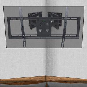 Corner Articulating TV Wall Mount Swivel Bracket for 32