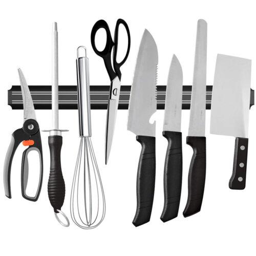 Magnetic Knife Strip Rack Kitchen Tool Storage Bar Heavy Dut