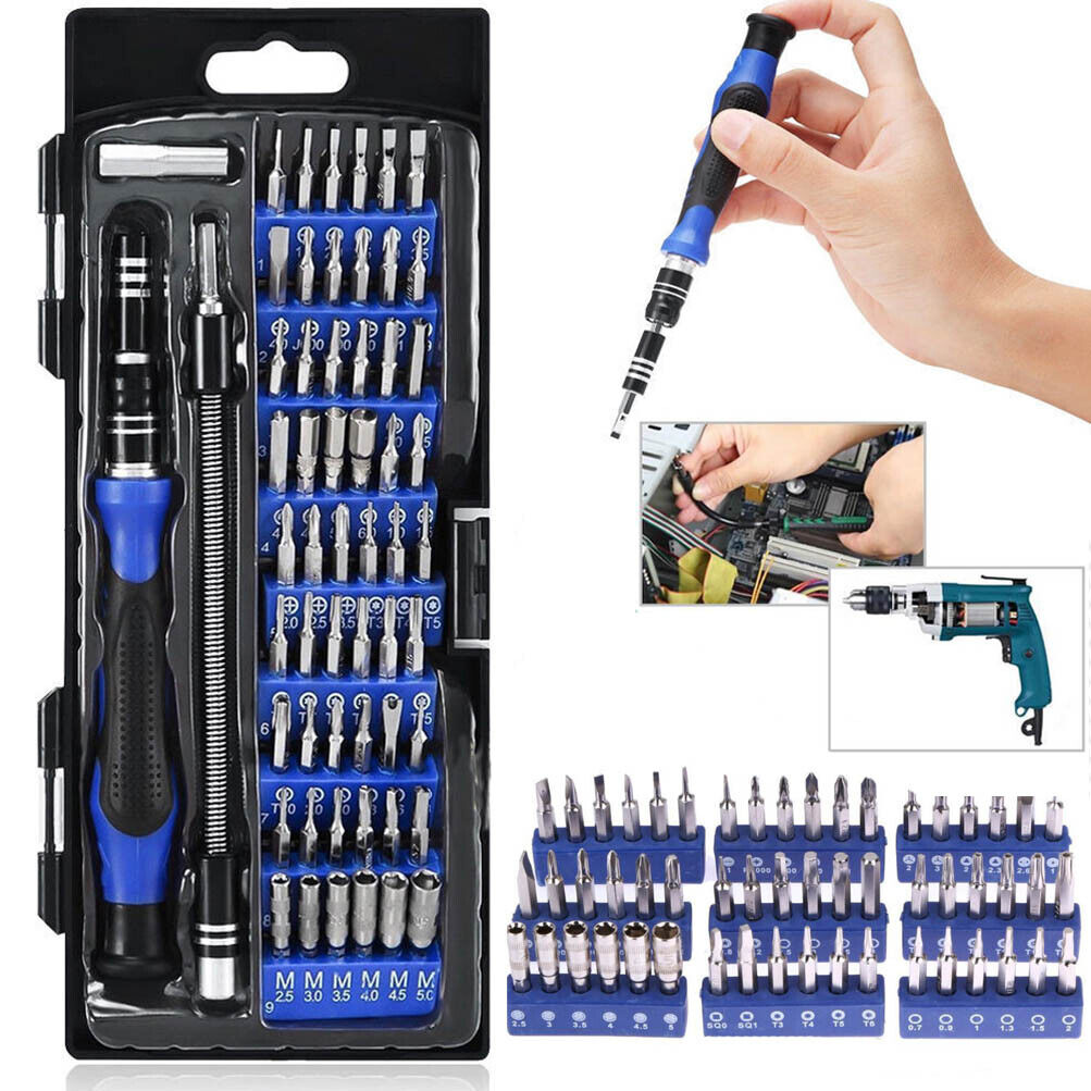 Smart Phone Repair Tool with Cleaning Cloth Magnetic Precision Screwdriver Set