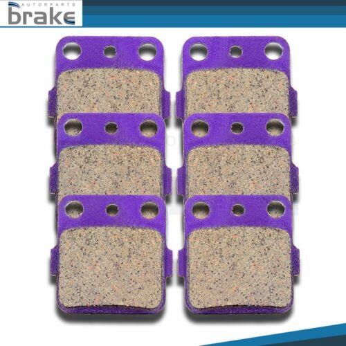 F+R Carbon fiber Brake Pads for HONDA Sportrax 400 TRX400EX 2x4 01-08 06 07