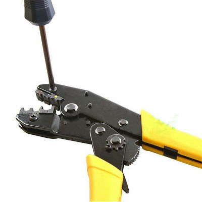 Wxk-30jn Cable Wire Terminal Crimper Ratcheting Crimping Plier Tool Kit Set