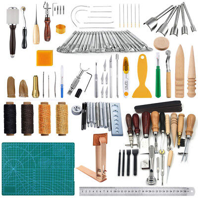 Leather Craft Working Tools Make it Easier to Maintain & Customize Leather Items (Customize Items)