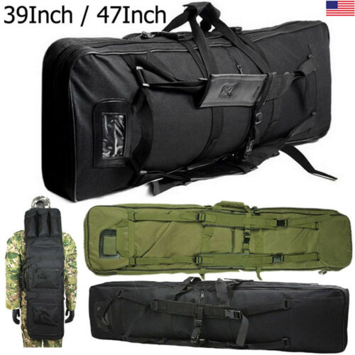 "36"" /46"" Premium M4 Rifle Carry Backpack Case Bag Tactical R"