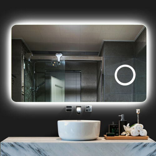 Diffuser Led Backlit Bathroom Mirror Wall Mount Vanity Squar