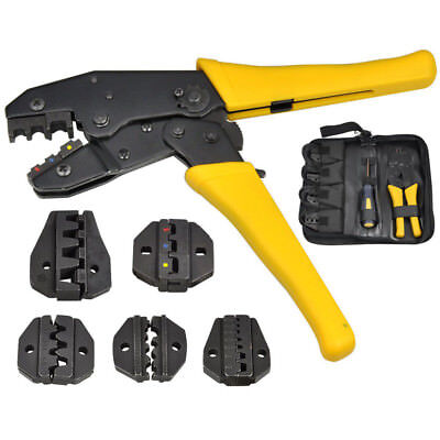Electrical Wire Connector Terminal Crimping Tool Wire Crimper 0.5 -35 Mm Awg