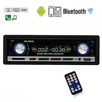 Unho Car Radio Stereo Media Player Bluetooth Aux Usb Rds Mp3 Jsd 20158 No Cd