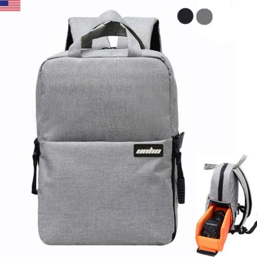 Pro DSLR Digital Camera Bag Backpack Travel Outdoor Case Photography Waterproof