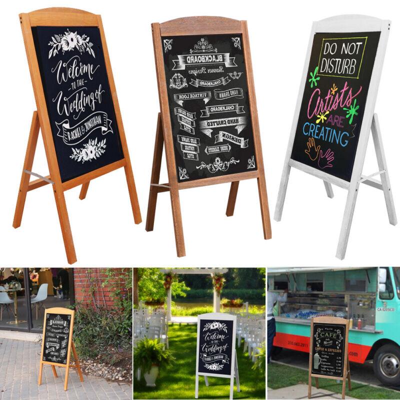 Large Magnetic A-Frame Chalkboard Display Sidewalk Blackboard Sign Wedding Shop