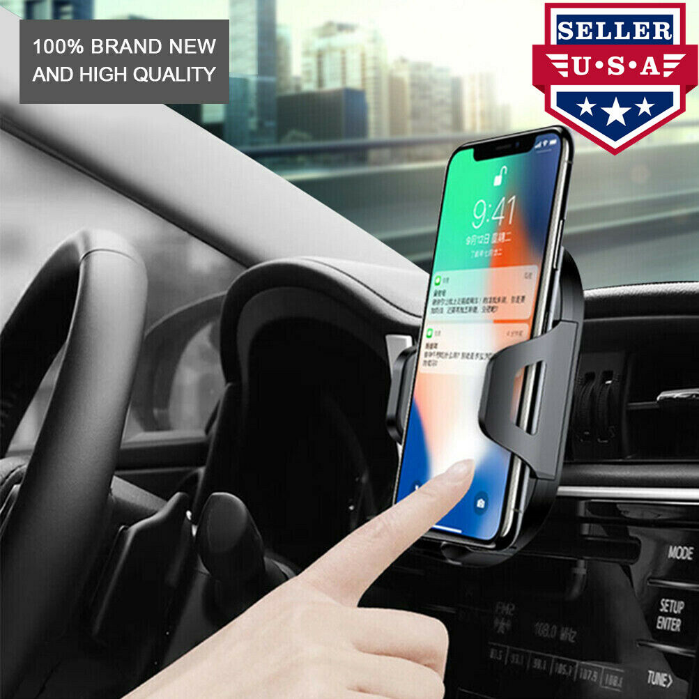 NOVPEAK 360 Car Cradle Holder Mount Air Vent for Cell Phone