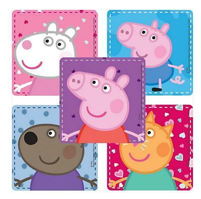 25 Peppa Pig Characters Stickers, 2.5