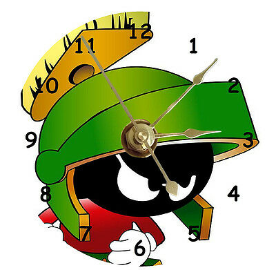 Marvin The Martian 2 Cd Clock