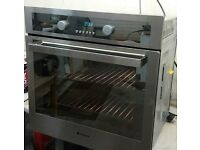 HOTPOINT,STAINLESS STEEL,ELECTRIC MULTIFUNCTION FAN OVEN/CONVECTION OVEN/GRILL EXCELLENT CONDITION.