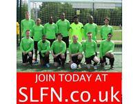 CASUAL FOOTBALL GAMES, LEAGUE FOOTBALL GAMES, PLAY FOOTBALL SOUTH LONDON 201u2