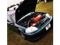 Honda Civic EK4 Modified Track Vtec