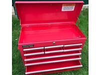 Clarke 9 Drawer tools storage top box great condition