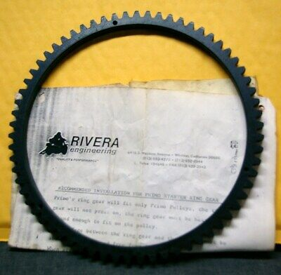 RIVERA PRIMO CLUTCH BASKET RING GEAR WITH RIVETS -