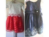 Two party dresses size 5-6
