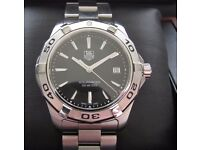 Tag Heuer Aquaracer Gents Watch Black WAP1110