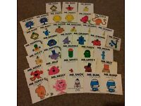 52 mr men mister little miss story books collection Roger Hargreaves kids book toy child family toys