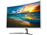 """HKC NB27C 27"""" Curved Monitor 60hz"""
