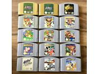 NINTENDO 64 GAMES (read description for more information)