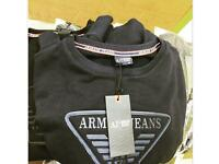 Armani sweat top available