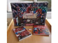 marvel heroes collectible chess set