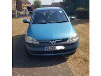 Cheap ideal first car Vauxhall Corsa 1.2