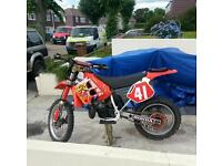 1990 honda cr250 rl 2stroke moto x