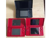 JOB LOT OF 3 FAULTY NINTENDO DS
