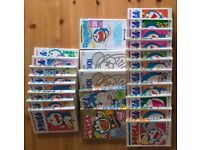 71 Japanese comics (in Japanese) including favourites such as Doraemon, Shinchan, and Chibi-maruko.
