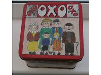 Vintage OXO Tins x 4