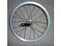 16-inch bicycle wheel