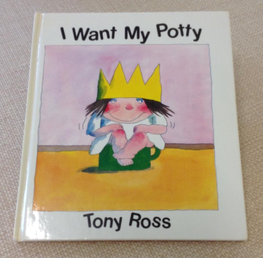 I Want My Potty Book & 2 Potties
