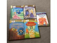 5 First Readers books