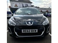 Peugeot 308 Access 1.6 VTi Automatic very low mileage (12,000) well kept
