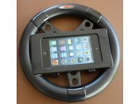 AppWheel - steering wheel holder for iPod touch and iPhone racing games