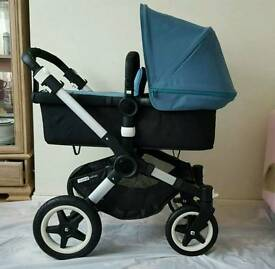 Bugaboo Buffalo Petrol complete with maxi cosi great condition !