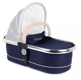 iCandy peach main carrycot in royal 2016 (Un used)