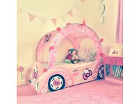 Hello Kitty Pink Toddler Car Bed