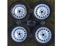Vw Steel wheels 15'