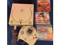 Sega Dreamcast with 11 Games