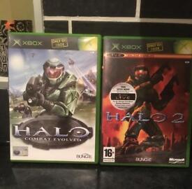 Halo 1 & 2 XBOX & XBOX 360